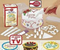 Free Shipping 100pcs/set TV products sell like hot cakes, Betty Crocker cake pan cake decorating device