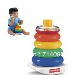 Cute Fisher price baby toy layers ferrule buttressed music budaoweng 0.3 freeshipping(China (Mainland))