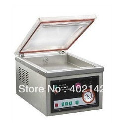 Free shipping,220V Desktop Vacuum sealer,plastic bag vacuum packaging machine, Vacuum packing machine(China (Mainland))