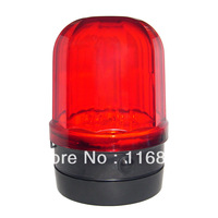 4PCS Free shipping Battery-powered Car Safety Red Strobe Light