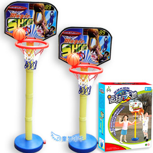 Freeshipping Toy height adjustable fitness basketball highly 1 meters small(China (Mainland))