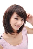 Wig stubbiness female pear wig female bobo wig female pear wig bulkness 013
