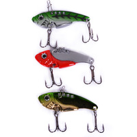 Vib 42mm 7g full paillette lure 3pcs/lot