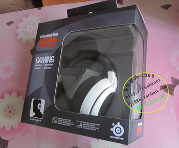 Original steelseries siberia neckband cs computer earphones headset