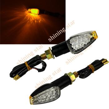 Universal  Free Shipping 4 x Motorcycle 14-LED Turn Signal Indicators Light hot sale TK_CB153
