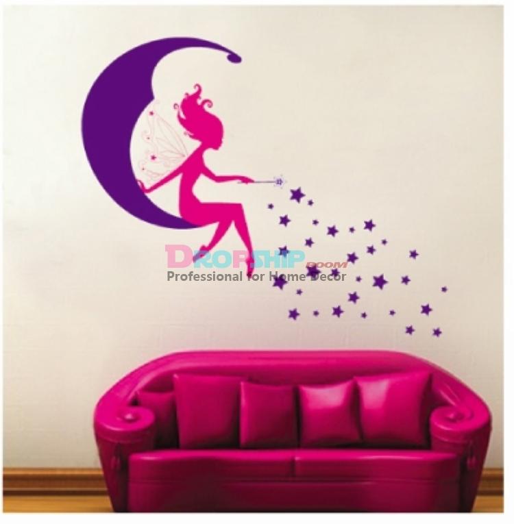 Vlinder kinderen decor promotie winkel voor promoties vlinder kinderen decor op - Deco gemengde kamer ...