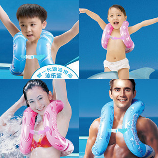 Life vest for children and adults inflatable swimming circle intex swimming ring floating ring 2 color 4 size(China (Mainland))