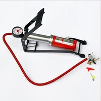 Car vaporised pump motorcycle battery car foot pump car air pump belt tire gauge