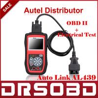 AUTEL Autolink AL439 OBD II/EOBD Scanner  OBD II + Electrical Test Auto Link AL-439 Diagnostic Engine Code Reader