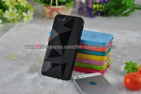 10PCS/LOT Multicolor Diamond silicone TPU soft shell Cover Case For iphone 5 5G