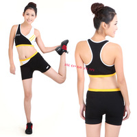 New arrival fitness clothing callisthenics running suit gym suit leotard set pad female free ship