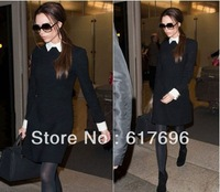 Free Shipping! Victoria Style  Dress  New MILITARY Celebrity Fashion Size: S/M/L