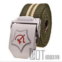 Men belt Thickening Canvas belt fashion belts for men classic strap belt 110cm 120cm Lengthen Free shipping