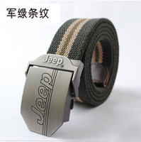 2015 Cinto Masculino Belts for free Shipping Thickening Military Canvas Belt Male Women's Outdoor Strap 110cm And 120cm Lengthen