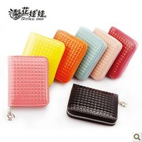 Lady Girls Concise Style Women's coin Purse Clutch Card Bag Fashion Wallet Free Shipping