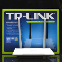 Free shipping Tp-link wr847n 300m wireless router wifi 2 noodle
