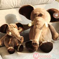 Freeshipping the elephant plush toys 30cm 50cm  66cm 82 cm to choose