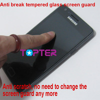 for samsung galaxy S2 i9100 Premium Tempered Glass Series screen protector with RETAIL PACKAGE