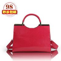 2013 korea fashion new arrival women's elegant handbag messenger bag bridal bag banquet bag OL handbag free ship