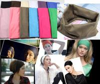 Free shipping wholesale price 2013 new pretty girls yoga hair band headwear hair accessories EURO size wide headband