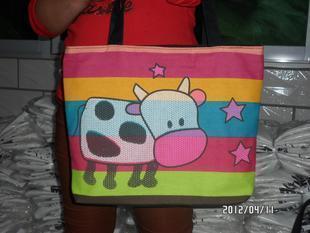 Canvas bag women's handbag shoulder bag handbag female bags eco-friendly bag customize Free shipping