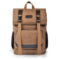 big size Brown color;; travel Casual student simple cool High Quality of 100% canvas with Shoulder hand bag, Free Shipping