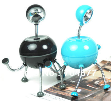 2013 New Arrival Novelty Luna Lamp Alien 360 any modelling Desktop LED Night Light Lamp(China (Mainland))