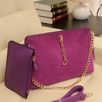 Free shipping New Fashion 2014 women's handbag genuine leather nubuck leather vintage shoulder bag cross-body Lady''s handbag