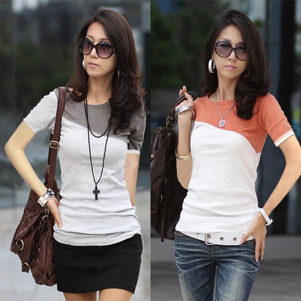 -SEKKES-2013-Fashion-T-Shirt-Women-Splic