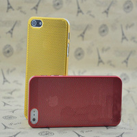 Luxury Aluminum Brush Hard Back Case Cover Skin for Apple iPhone 5 5G ,Matel back cove reticulated shell for iphone 5
