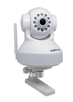 Foscam FI8918W CCTV WiFi Pan/Tilt IR IP Camera MOBILE VIEW IPHONE DROID WHITE