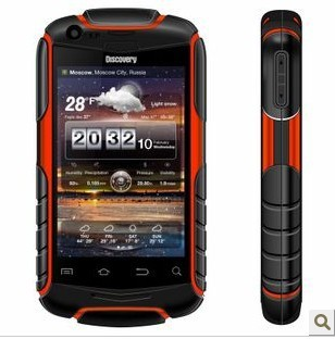 "Discovery V5 Android 2.3 waterproof mobile phone Shockproof Dustproof rugged phone SC8810 1.0GHz WiFi 3.5"" Capacitive Screen"