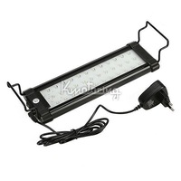 High Quality 36 Led New 2.5W White Light Fish Tank Lights  Lamp Blue/White 25cm Lighting,Black aquarium led lights FREE SHIPPING