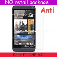 For HTC ONE M7,screen guard film saver protector,Anti-Scratch Anti Matte Glare,DHL shipping,NO pacakge