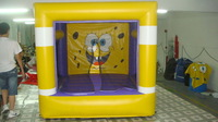 Free shipping+inflatable BounceS sponge bob +free CE/UL blower