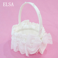 2013 western-style wedding portable basket wedding supplies props flower girl flower basket petals