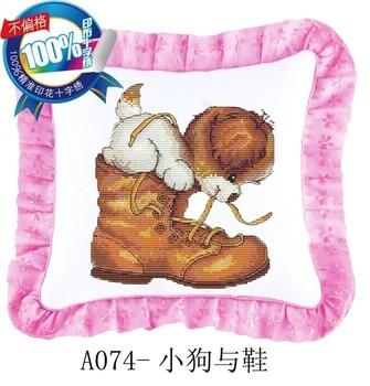 Pillow print pillow cushion pillow shoes ja074