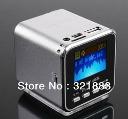 Free shipping Mini Portable New angel USB Speaker support FM Radio usb flash drive Micro SD TF Card(China (Mainland))