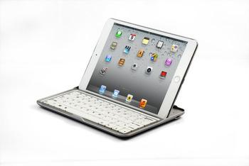 "Ultrathin Aluminum Bluetooth Wireless Keyboard Keypad Stander for Apple iPad Mini 7.9"""