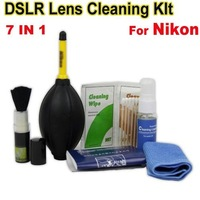 Professional 7 in 1 Pro Lens Cleaning Kit for nikon dslr camera Free Shipping