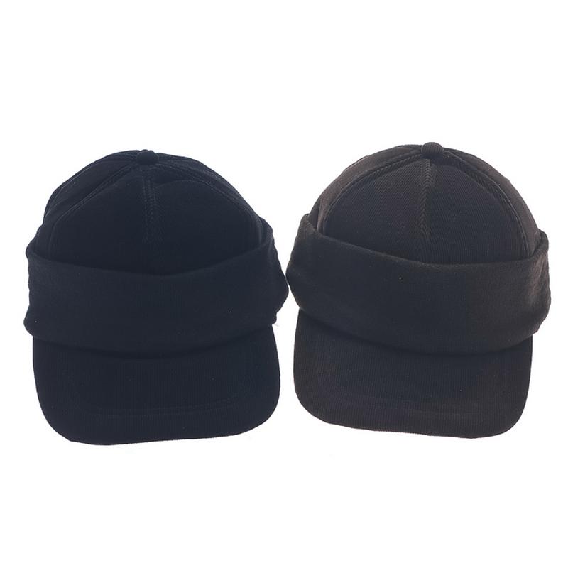 Thermal spring corduroy baseball cap male cap truck ear cap 2(China (Mainland))