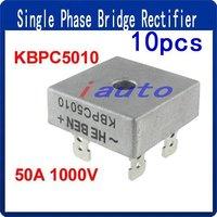 KBPC5010 Single Phase Diode Bridge Rectifier 50A 1000V New