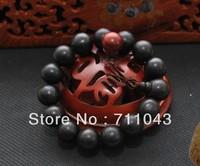 Vietnam natural water precipitation aloes beads bracelet hand string agarwood beads aloeswood beads 15mm*15pcs