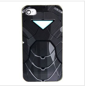 2013 Hot Seller Iron Man Gray Face Of Marvel Comics For iPhone 5 Hard Case Cover Skin Free shipping
