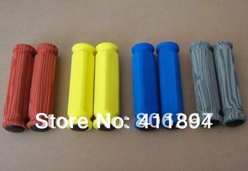 For MOUNTAIN FOLD BIKE VELO MTB sponge BAR GRIPS Super Light Weight Colorful red