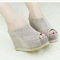 2013 Stylish Fashion Vogue NEW Womens Shoes Lady High Heels Peep Toe Platform Pumps Wedges