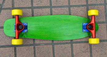 Backfire skateboard 4 Wheels Colorful New wooden Penny Skateboard Fish Long Board