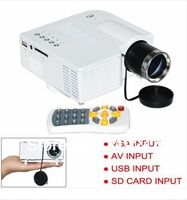 "Brand New! Native320 X 240 Portable Multimedia LED LCD Mini Projector Desk Type 45"" Display AV-in Video HDMI USB,SD,VGA"