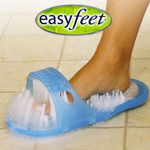 Easy Feet Foot Scrubber Brush Massager ,No More Bending To Clean Your Feet 100% Brand New(China (Mainland))