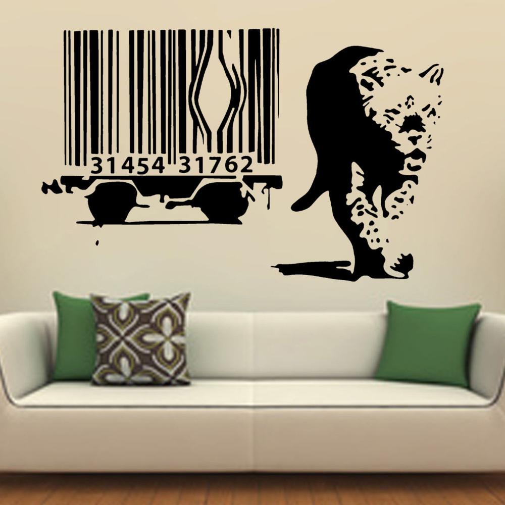 Big cheetah print wall stickers viewing gallery